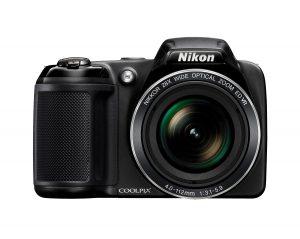 Nikon Coolpix L340 günstige Vlog Kamera