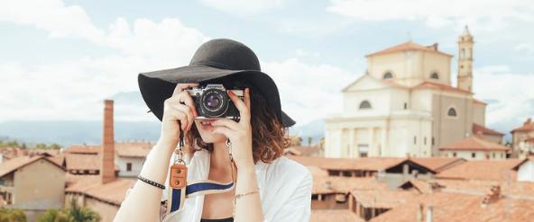 Fotos auf Reisen speichern