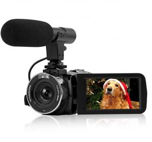 SEREE Camcorder Vlogging Kamera